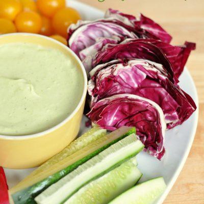 Curried Avocado and Yogurt Dip