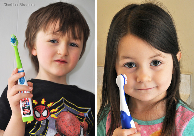 Havin fun while brushing your teeth with your Tooth Tunes Toothbrush #toothtunes #ad