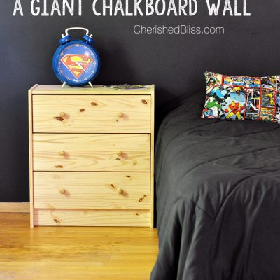 How to Paint a Chalkboard Wall