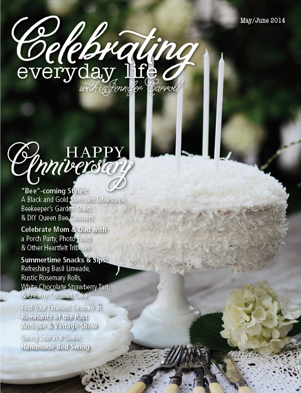 Celebrating Everyday Life with Jennifer Carroll May/June Issue