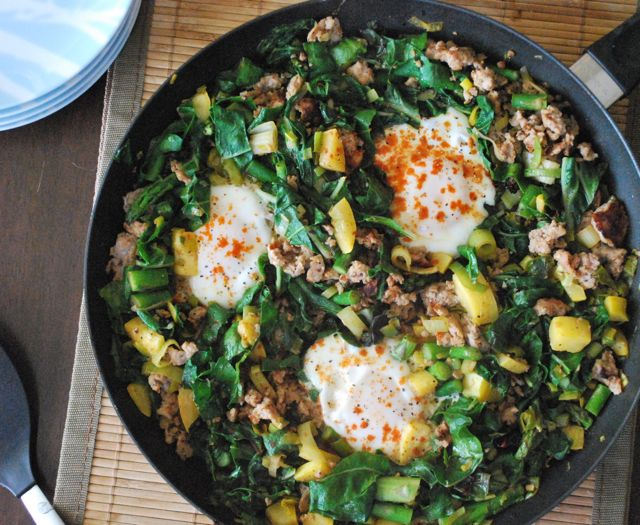 Super Healthy One Skillet Meal