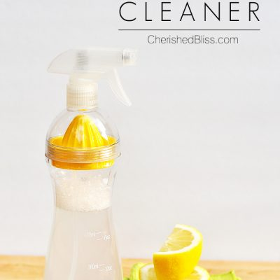 Vinegar All Purpose Cleaner | Works on Glass too!
