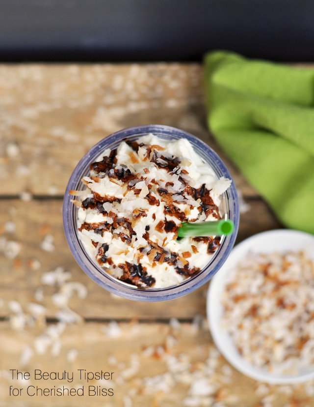 Coconut Mocha Frappuccino Recipe + a Giveaway from The Beauty Tipster