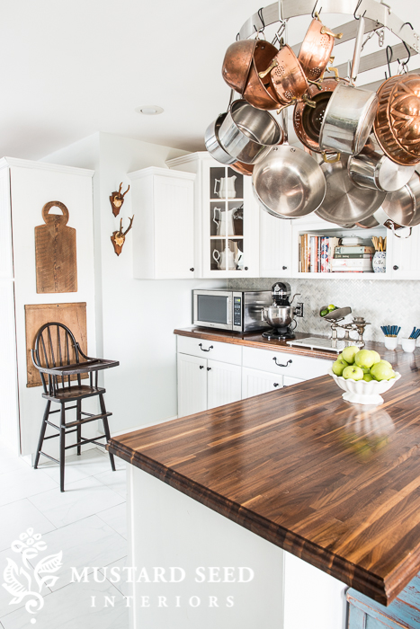 Tips for Choosing Butcher Block Counters. Get the perfect wood type and finish with these simple tips!  @hardwoodforless #Kitchen #ad
