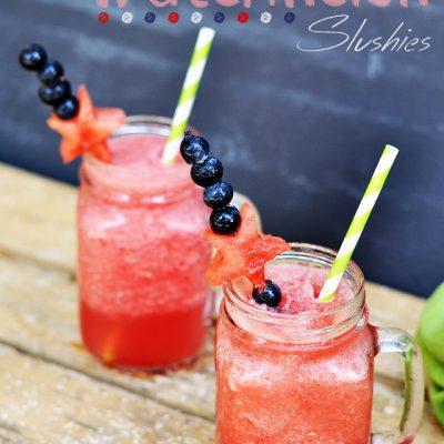 Salted Watermelon Slushies Recipe