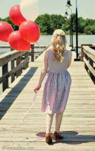 Fourth of July Fashion and an eShakti dress review