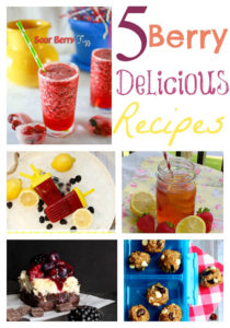 Five Berry Delicious Recipes