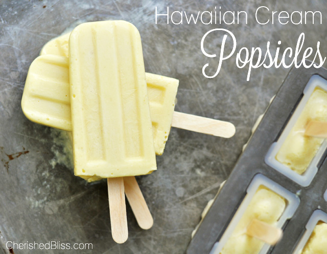 This Hawaiian Cream Popsicle recipe has a delicious combination of tropical fruit that is sure to bring you the taste of paradise.