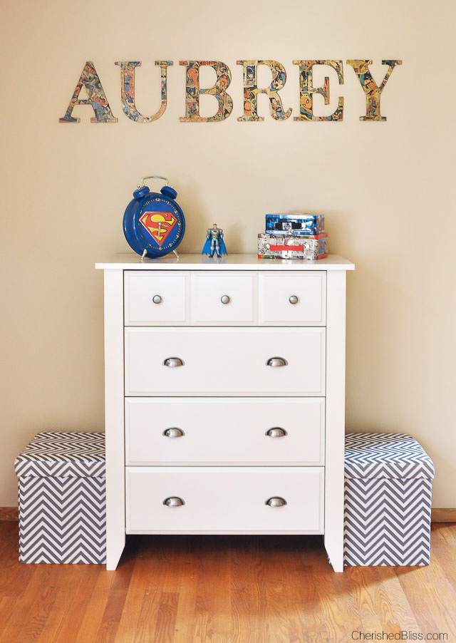 Superhero Boy's Bedroom Ideas