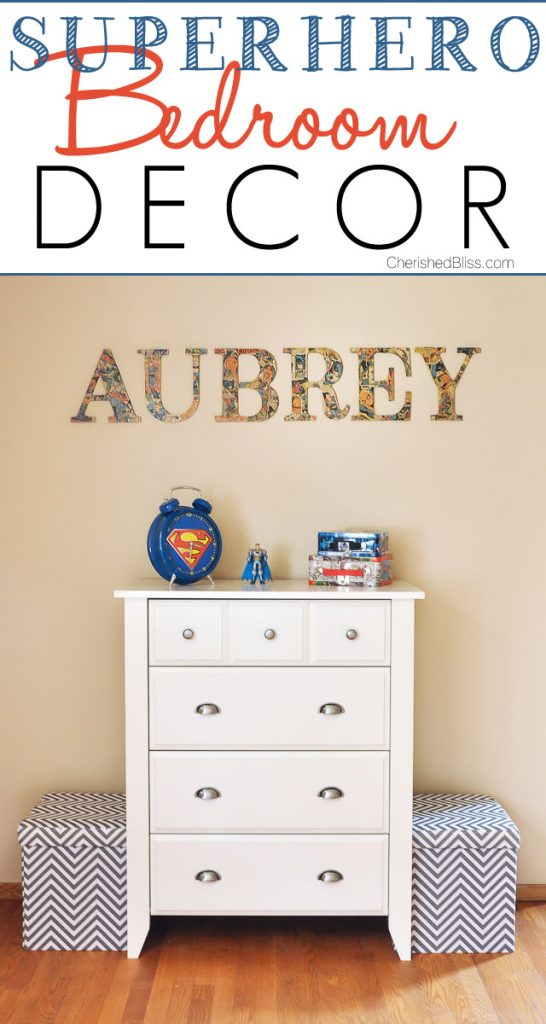 superhero bedroom decor a new dresser cherished bliss