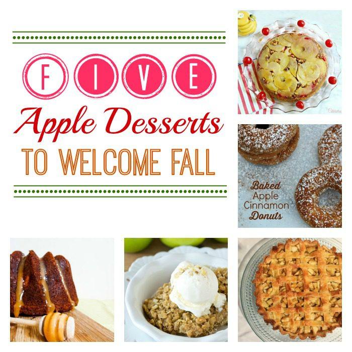 5 apple desserts