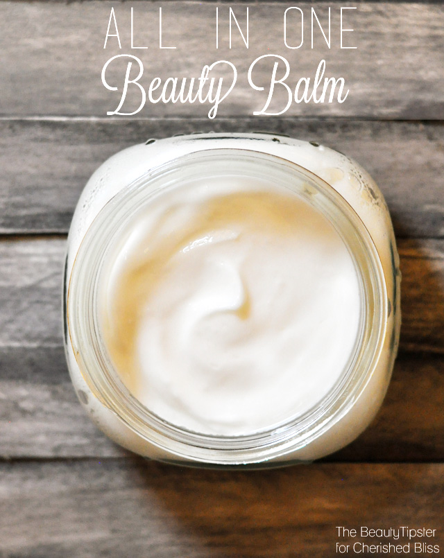This All In One Beauty Balm is an amazing multipurpose moisturizer. A must make to include in your beauty routine!