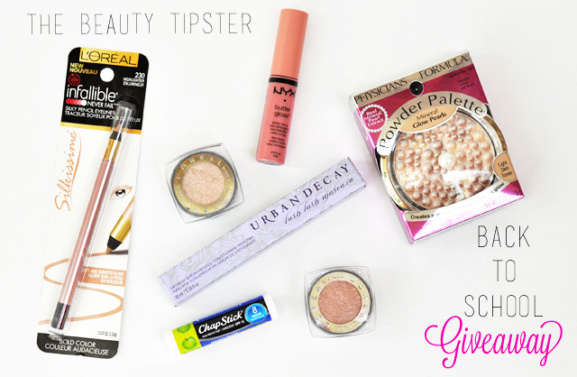 Back to School Makeup Look and Giveaway from The Beauty Tipster!