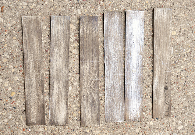 Wooden Arrow Wall Art made from wood shims