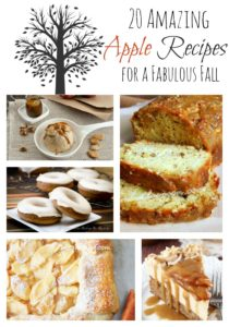 20 Amazing Apple Recipes for a Fabulous Fall via CherishedBliss.com