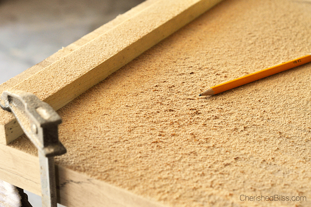 You can use sawdust mixed with wood glue for a better fill that's less noticeable.