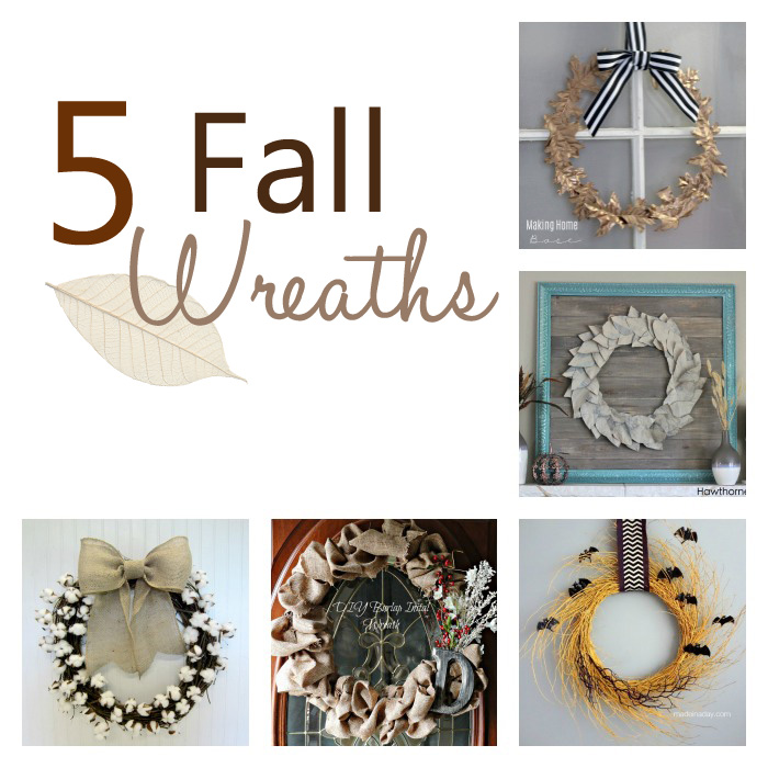 5 Fall Wreaths
