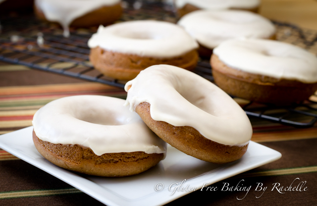 Apple Cinnamon Donuts with Maple Glaze