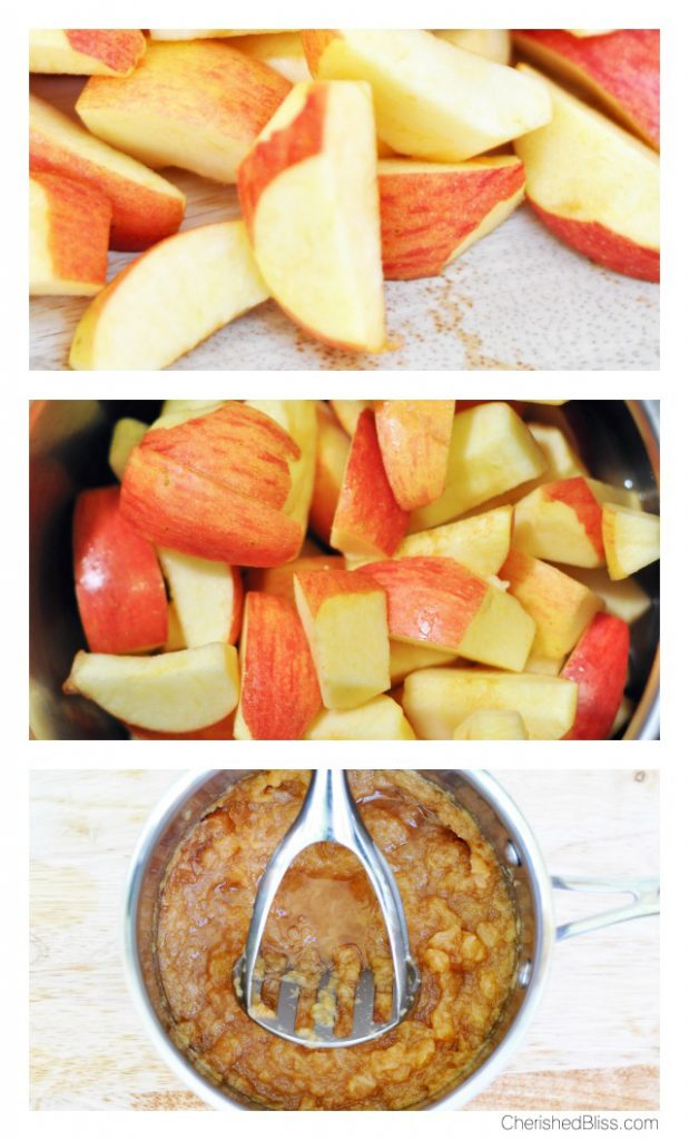 What better way to kick off fall than with an Easy Stovetop Apple Sauce?!
