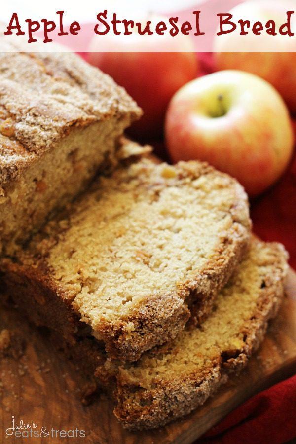Apple-Struesel-Bread