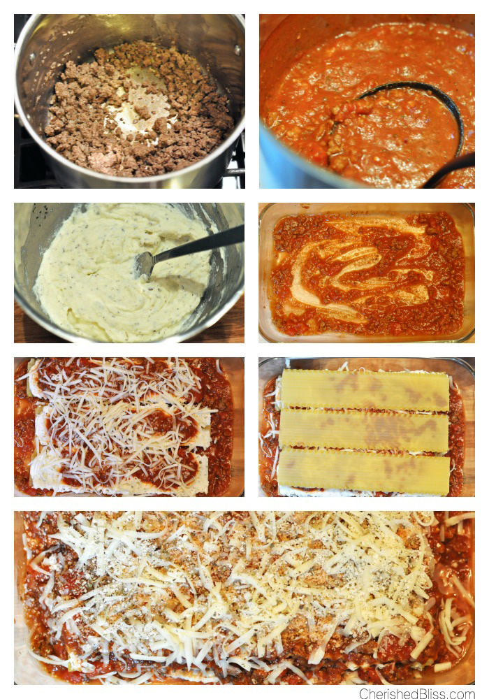 Call the family to the table and enjoy this delicious Homestyle Lasagna!