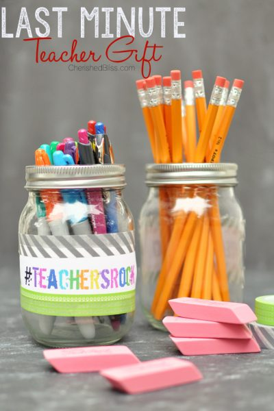 Last Minute Teacher Gift Idea