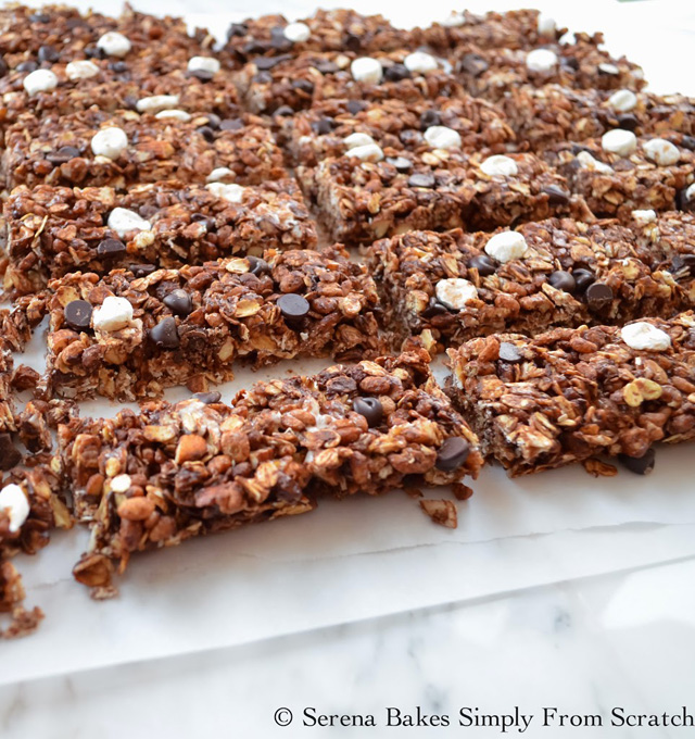 No Bake S'mores Granola Bars (9 of 1)