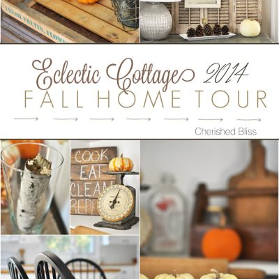 Eclectic Cottage Fall Home Tour