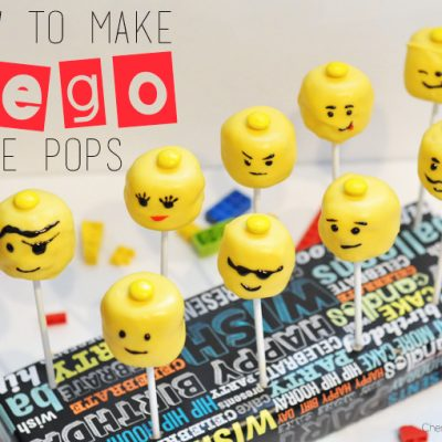 How to Make Lego Cake Pops