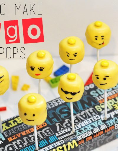 How to make Lego Cake Pops via CherishedBliss.com