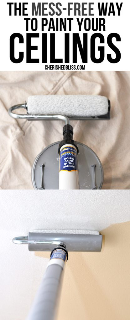 The Mess-Free Way to Paint your Ceilings