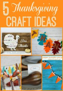 5 Thanksgiving Craft ideas