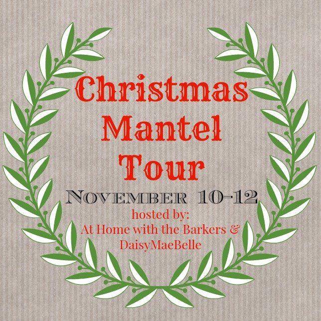 Christmas Mantel Tour
