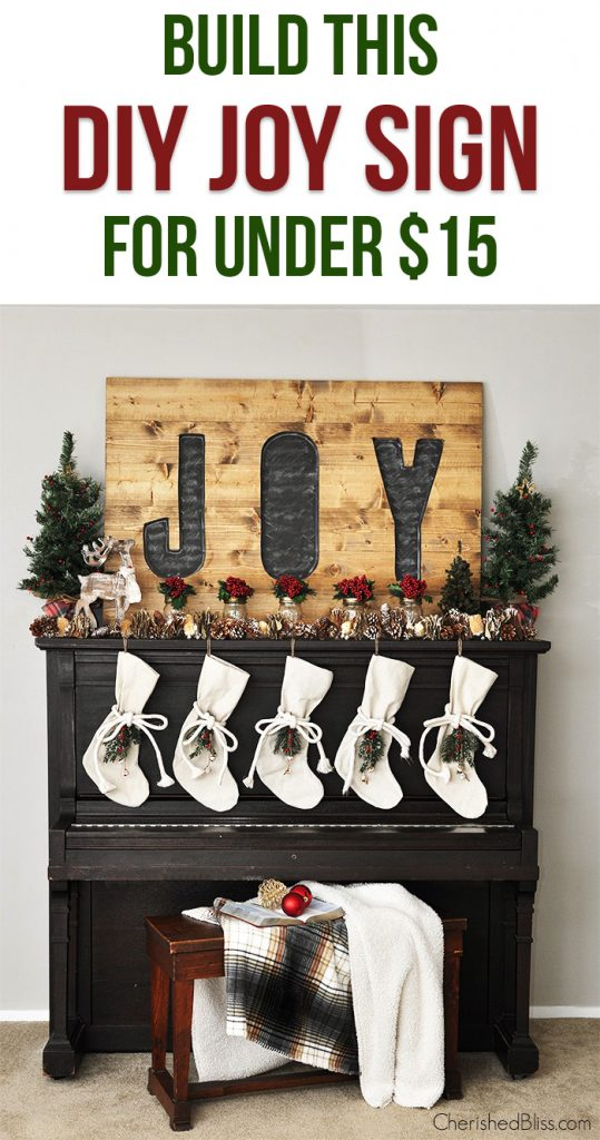 Build a DIY Joy Sign