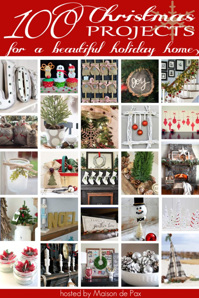 Get ready for Christmas with over 100 Christmas Projects and Recipes!!
