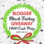Black Friday $400 CASH Prize Giveaway!