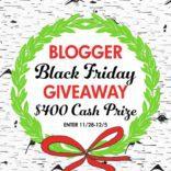 Black Friday $400 Cash Prize Giveaway