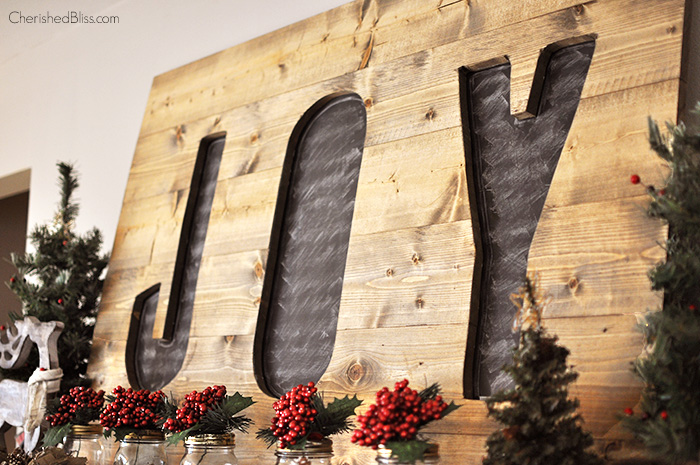 build this diy christmas joy sign for under 15 a great addition to your christmas - Christmas Decor Signs