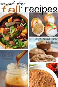 Preparing for Thanksgiving? Here are 5 Must Try Fall Recipes for you to try this year!