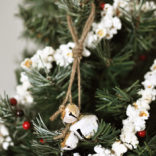 Rustic Jingle Bell Ornament