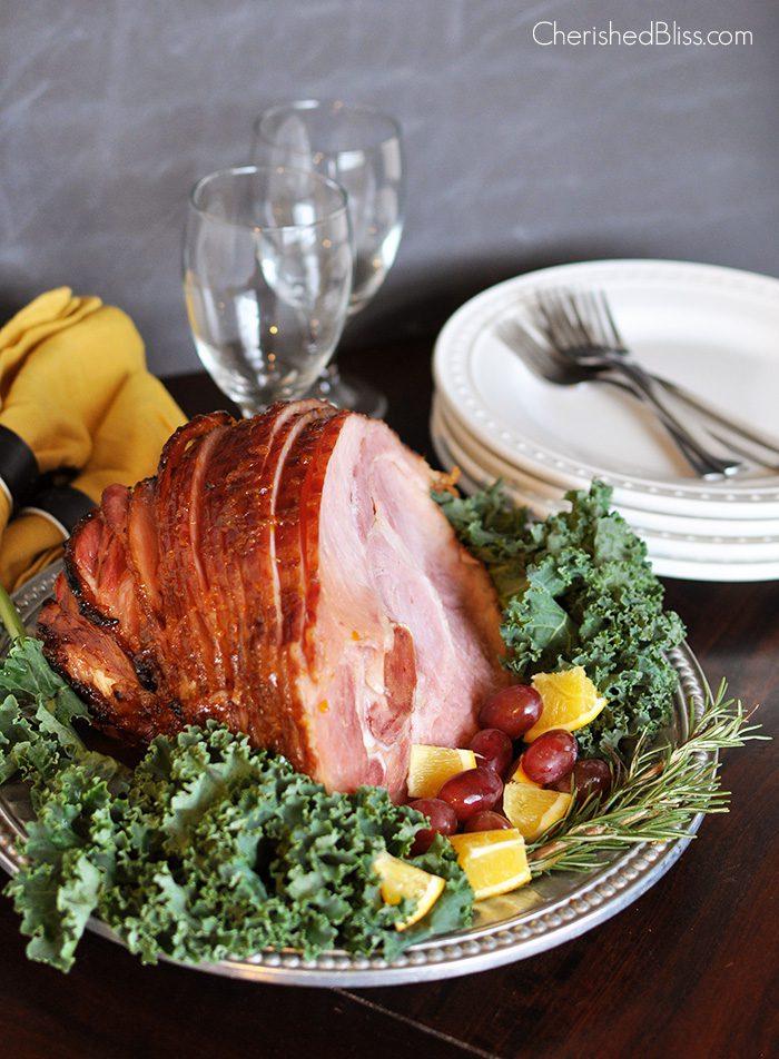 Holiday Glazed Ham Recipe - Cherished Bliss