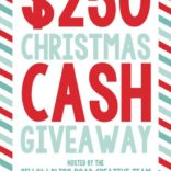 $250 Christmas Cash Giveaway