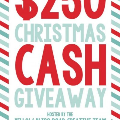 $250 Christmas Cash Giveaway
