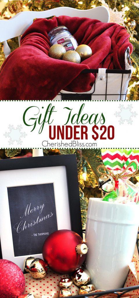 Christmas Gift Ideas Under 20 Cherished Bliss