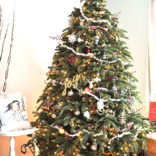 Old Fashioned Rustic Christmas Tree