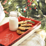 Santa Cookie Tray Tutorial