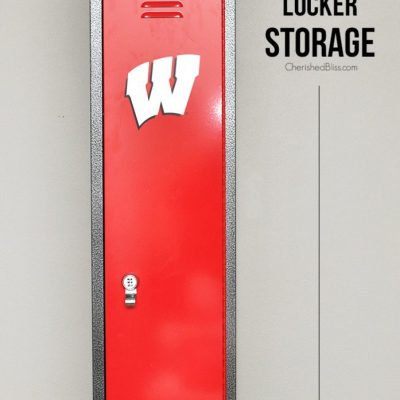 Sports Fan Locker Storage