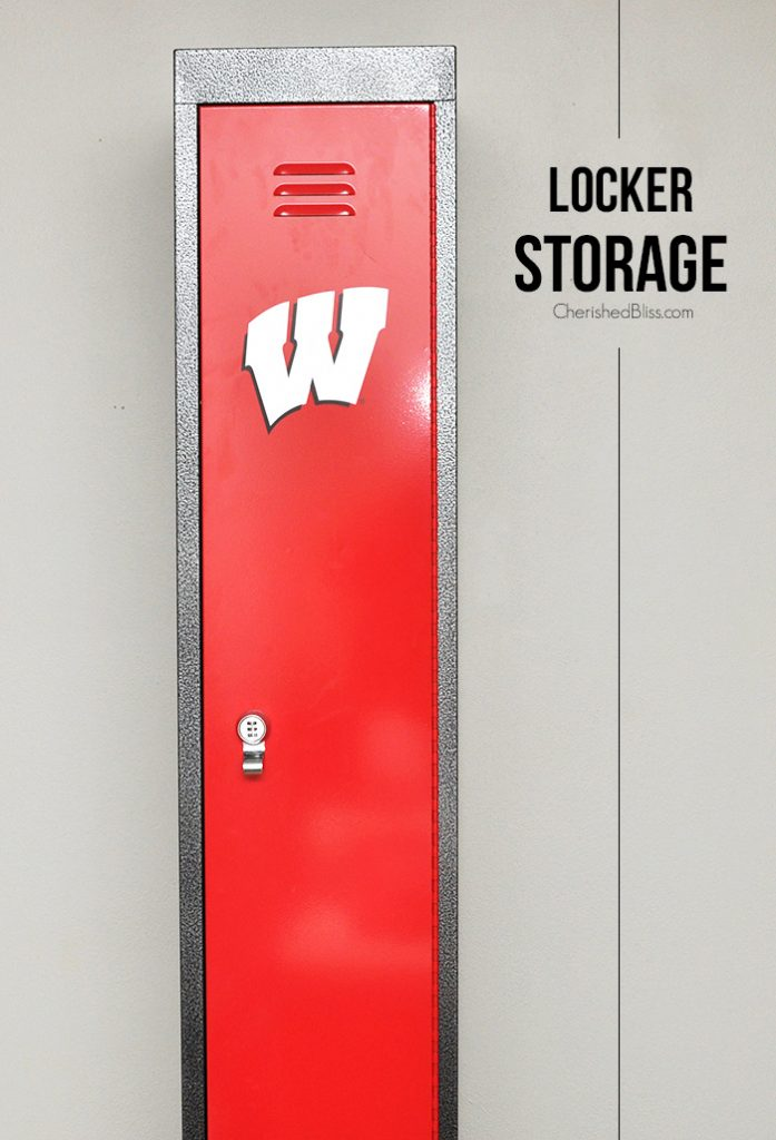 Sports Fan Locker Storage Cherished Bliss