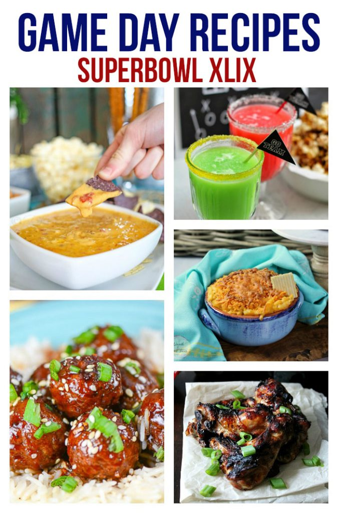 Superbowl Game Day Recipes