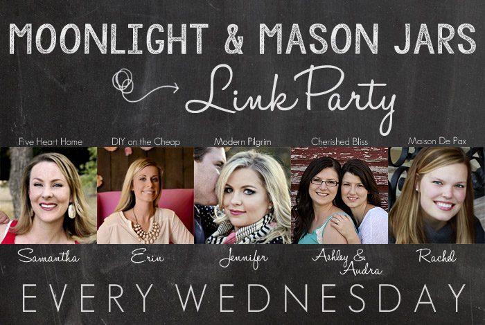 Moonlight and Mason Jars Link Party